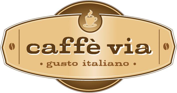 caffé via Logo